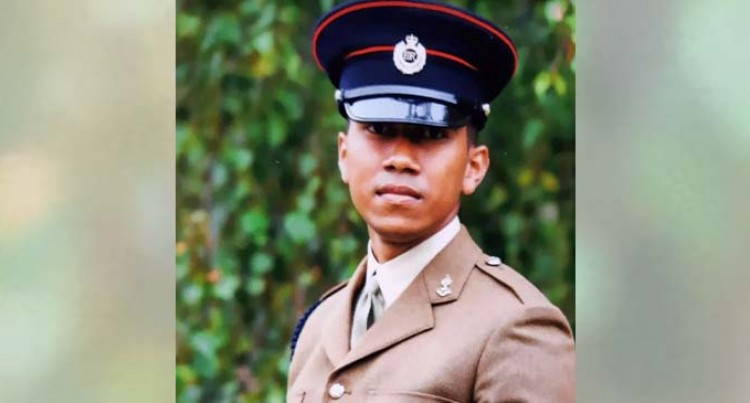 Labasa Family Proud Of Son's Achievement In British Army