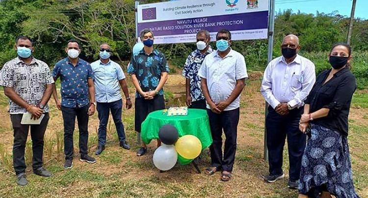 Navutu Riverbank Stabilization Works Commissioned