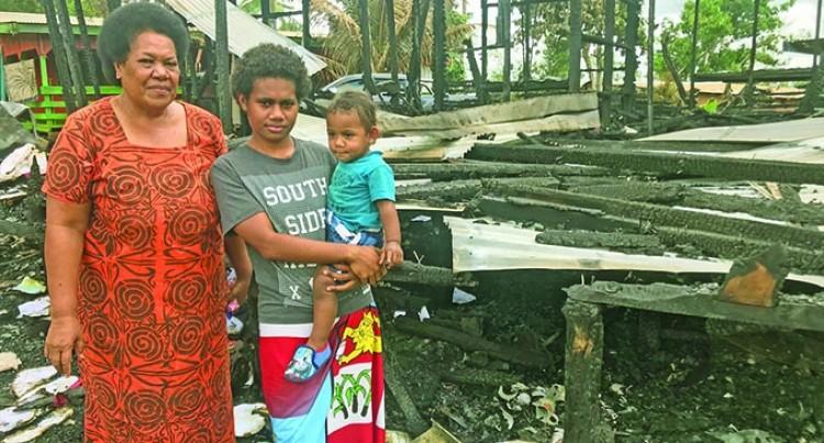 Family Seeks Ways To Survive, Rebuild
