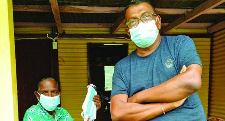 Rural Dwellers Grateful For Face Mask Donation