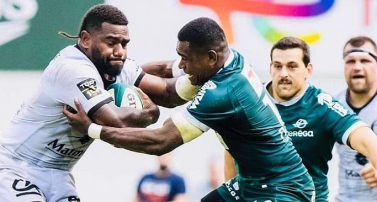 Fijians In T14's 'Thick Of Things'