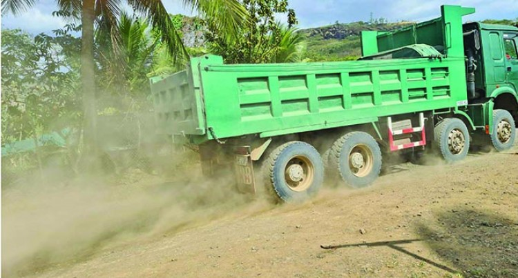Residents Sign 'Stop' Petition Against Heavy Laden Trucks