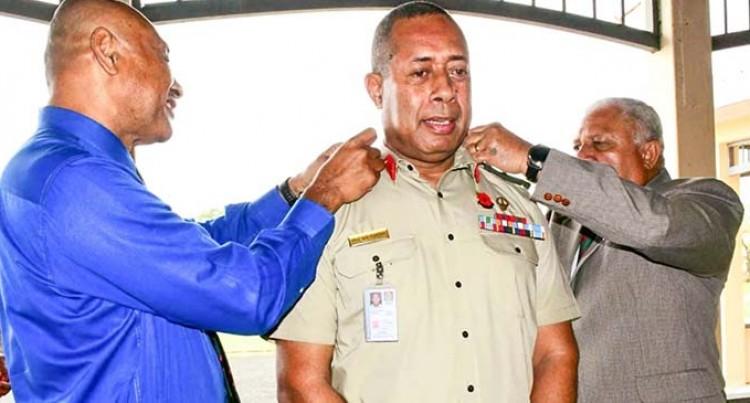 Commander RFMF Brigadier-General Jone Kalouniwai Promoted To Major-General