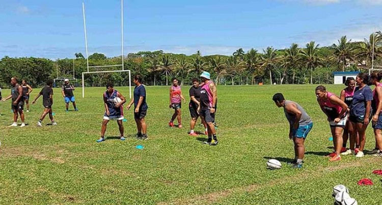 National Sevens Squads March Into Camp