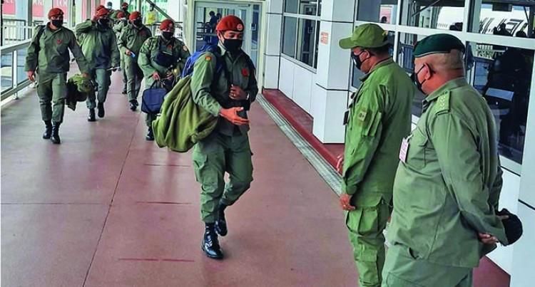 Troops From Sinai Return