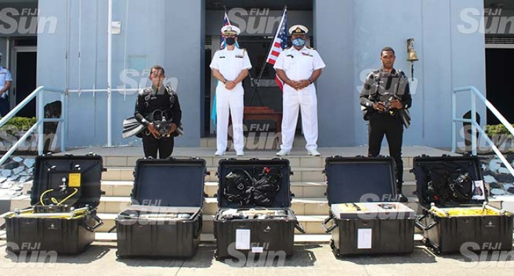 Fijian Navy's Divers Boost Capacity With $200K Equipment From USA