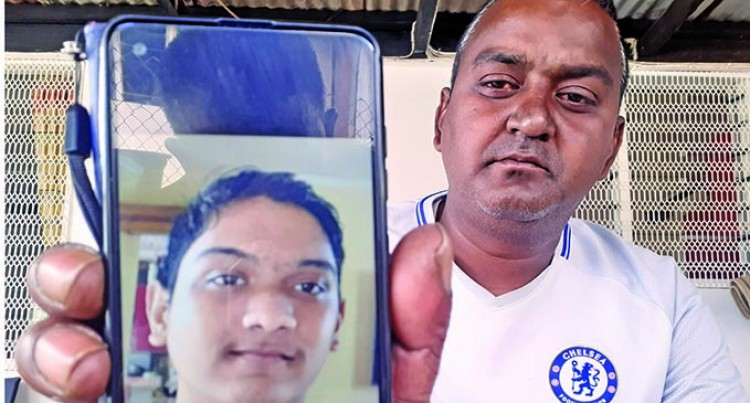 Dad Grieves, Son Found Floating In Rewa River