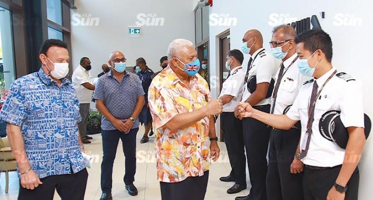 Prime Minister Bainimarama Opens FJ Academy
