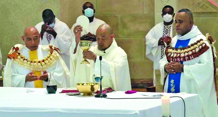 Two Ordained At Sacred Heart  Cathedral