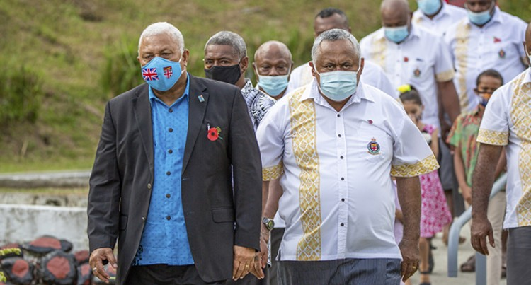 Fiji Corrections Service Personnel Except One Fully Vaccinated: PM Praises Achievement