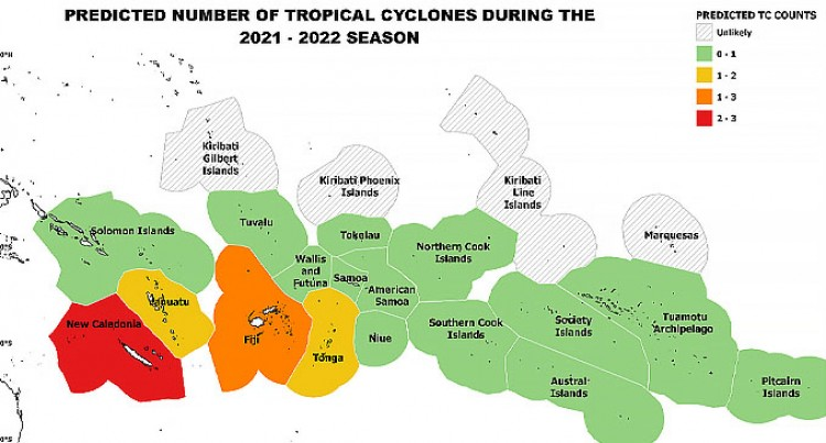 Fiji's Tropical Cyclone Outlook For 2021- 2022