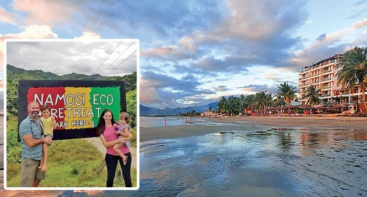 Let's Go Local: You Can't Beat a Wailoaloa Sunset:  Emma Campbell