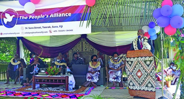 Ex-SODELPA Supporters Elected To Lead People's Alliance Party In Nadi