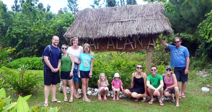 Guests at Takalana Bay Resort in Tailevu.